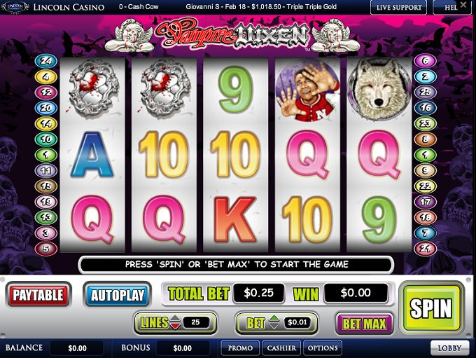 Lincoln Casino Slots – Brutally Honest Review and Ratings