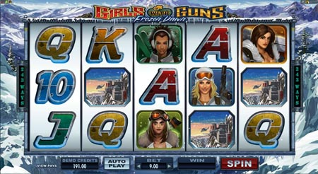 Girls with Guns 2 Slot Machine