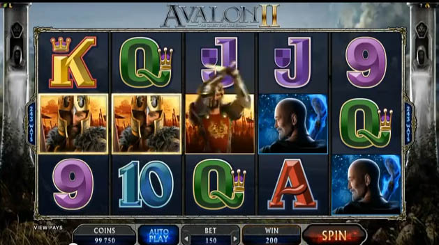 Avalon 2 Slot Machine