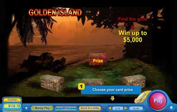 Golden Island Scratch Off Game