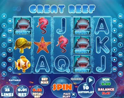 Great Reef Online Slots