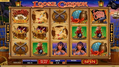 Loose Cannon Slot Machine Online ᐈ Microgaming™ Casino Slots