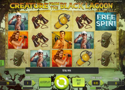 The Creature from the Black Lagoon Slots