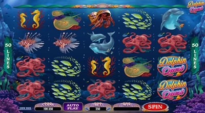 Free slot game dolphin reef