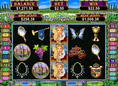 Regal Riches Online Slots