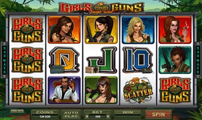 Girls with Guns Slots