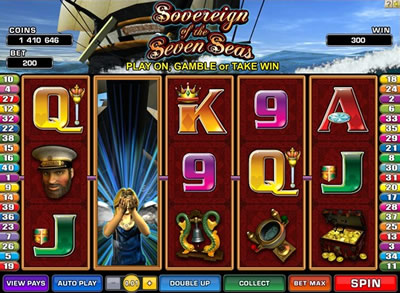 Sovereign of the Seven Seas Online Slots
