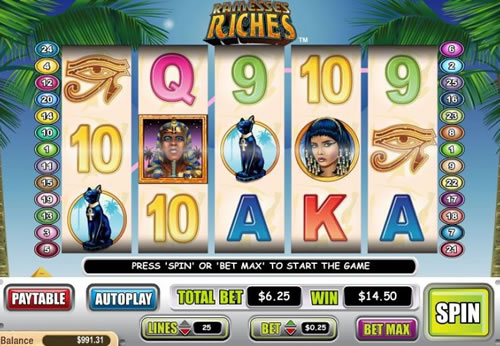 Ramesses Riches Online Slots