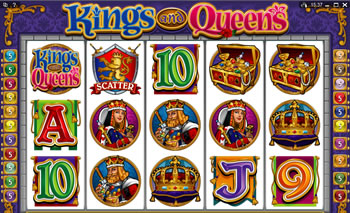 Kings and Queens Online Slots