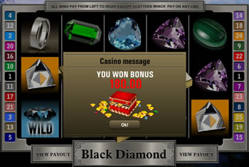 Black Diamond Bonus Game
