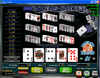 Double Double Bonus 10-Hand Video Poker