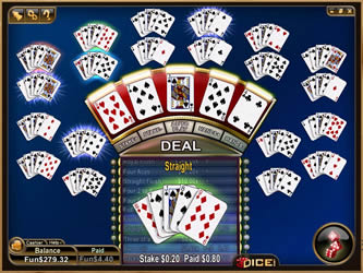 Bonus Video Poker Multi-Hand