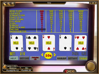Bonus Video Poker Single-Hand