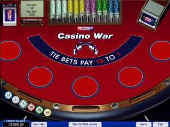 War casino online morongo casino buffet