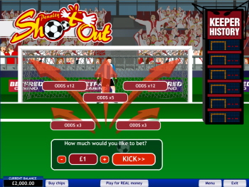 Free Penalty Shoot-Out Game