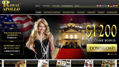 Royal Apollo Online Casino