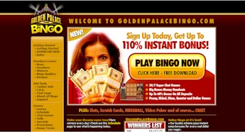 Golden Palace Bingo Room