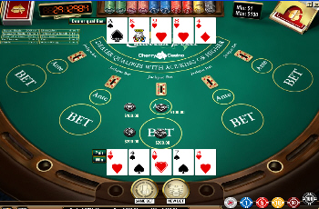 Net Entertainment Caribbean Stud Poker Flash Game