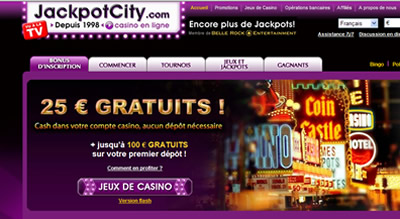 Jackpot City Casino Francais