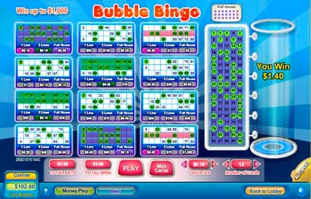 Bubble Bingo Scratch Off Game