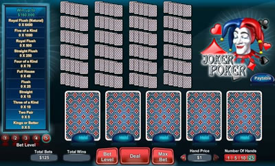Joker Poker Online Scratch Offs