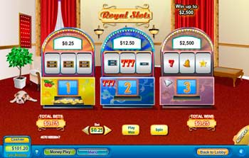 Royal Slots Scratch Off Game