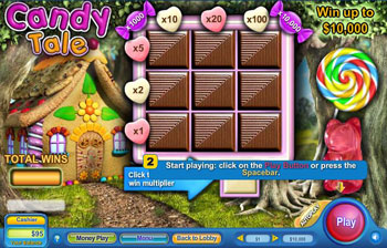 Candy Tale Scratch Off Game
