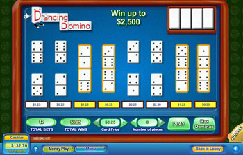 Dancing Domino Scratch Off Game