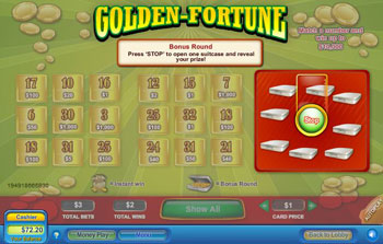 Golden Fortune Scratch Off Game
