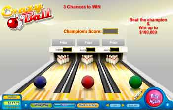 Bowling Scratch Off Game
