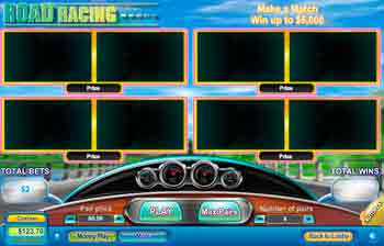Road Racing Scratch Off Game