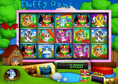 Fluffy Paws Online Slots