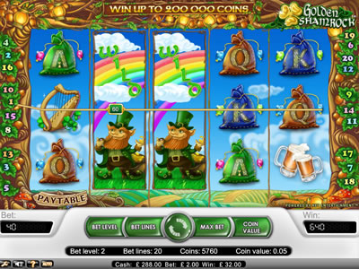 Golden Shamrock Slots