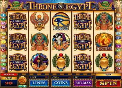 Throne of Egypt Slots