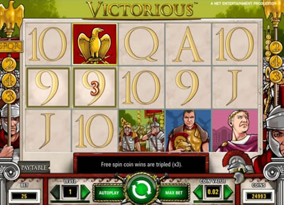 Victorious Online Slots