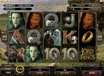 The Lord of the Rings Slot