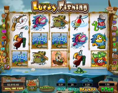 Lucky Fishing Online Slots