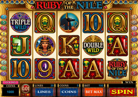 Ruby of the Nile Slots