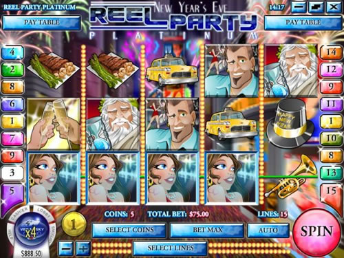 Reel Party Platinum Slots