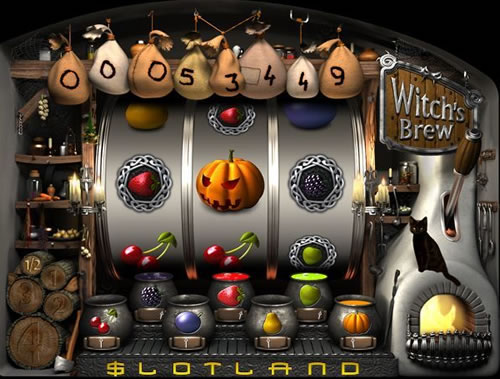 Witch's Brew Progressive Slot