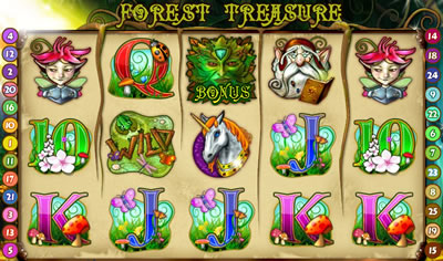 Forest Treasure Slots