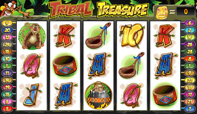 Tribal Treasure Slots