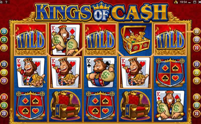Kings of Cash slots