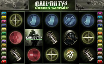 Call of Duty 4 Modern Warfare Slots