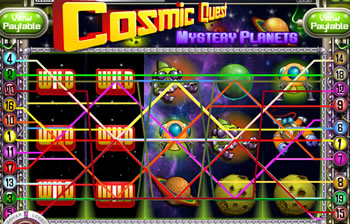 ECosmic Quest Mystery Planets Slot