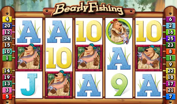 Bearly Fishing Slot