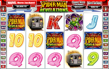 Spider-Man Revelations Slot