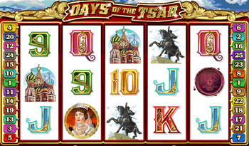Days of the Tsar Slots