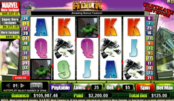 The Incredible Hulk Ultimate Revenge Slots