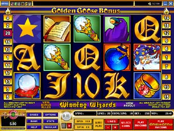 Golden Goose Winning Wizards Slots